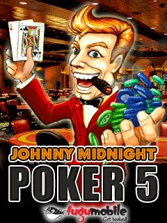 Download free mobile game: Johnny Midnight Poker 5 - download free games for mobile phone