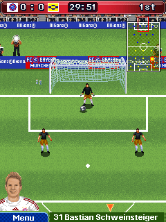 Mobile game FC Bayern Munchen 2008/09 - screenshots. Gameplay FC Bayern Munchen 2008/09