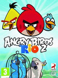 Mobile game Angry Birds Rio 2 - screenshots. Gameplay Angry Birds Rio 2