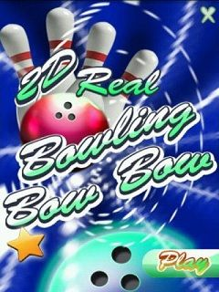 Download free mobile game: 2D Real Bowling Bow Bow - download free games for mobile phone