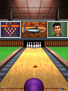Mobile game Brunswick Bowling - screenshots. Gameplay Brunswick Bowling