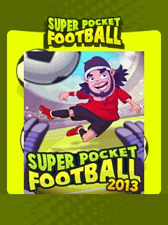 Download free mobile game: Super Pocket Football 2013 - download free games for mobile phone