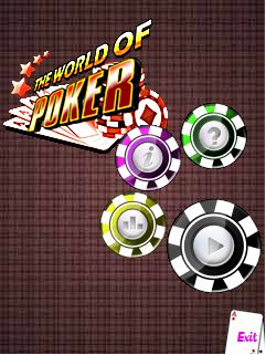 Download free mobile game: The world of poker - download free games for mobile phone