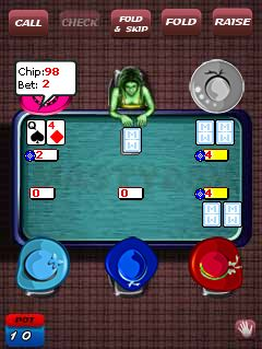Game poker online hp java