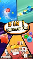 In addition to the free mobile game Ultimate Fun 5 in 1 for C1-01 download other Nokia C1-01 games for free.