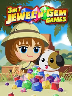 Mobile game 3 in 1 Jewel'n'Gem Games - screenshots. Gameplay 3 in 1 Jewel'n'Gem Games