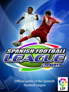 Download free mobile game: Spanish Football League 2009 3D - download free games for mobile phone