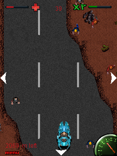 Mobile game Highway zombies: Massacre - screenshots. Gameplay Highway zombies: Massacre