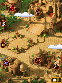 Mobile game The Glory of Legends - screenshots. Gameplay The Glory of Legends