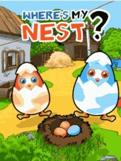 Download free mobile game: Where's my nest? - download free games for mobile phone