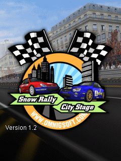 Download free mobile game: Snow Rally City Stage - download free games for mobile phone