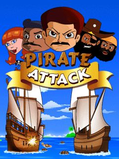 Download free mobile game: Pirate Attack - download free games for mobile phone