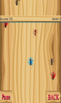 Mobile game Ant Smasher - screenshots. Gameplay Ant Smasher