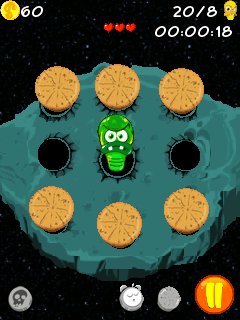 Mobile game Space Bugs - screenshots. Gameplay Space Bugs