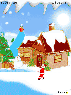 Mobile game X-mas Gift - screenshots. Gameplay X-mas Gift