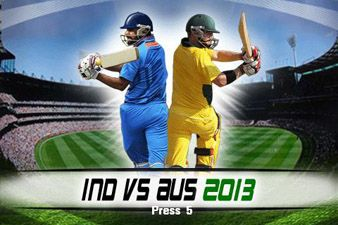 Download free mobile game: IND vs AUS 2013 - download free games for mobile phone
