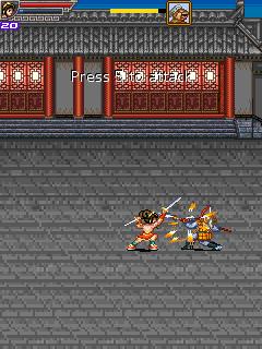 Mobile game Kung Fu Girl - screenshots. Gameplay Kung Fu Girl