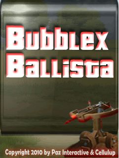 Download free mobile game: Bubblex Ballista - download free games for mobile phone