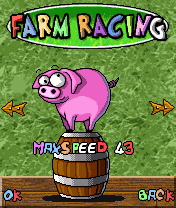 Mobile game Farm Racing - screenshots. Gameplay Farm Racing