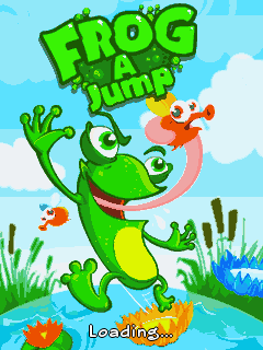 Download free mobile game: Frog a Jump - download free games for mobile phone