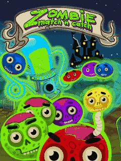 Download free mobile game: Zombie Match'n'Catch - download free games for mobile phone