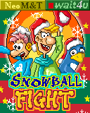 Download free mobile game: Snowball fight - download free games for mobile phone