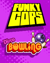 Download free mobile game: Funky Cops Disco Bowling - download free games for mobile phone