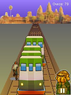 Mobile game Subway Surfers: Rome (Jungle) - screenshots. Gameplay Subway Surfers: Rome (Jungle)