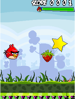 Mobile game Angry Birds: Free Fly - screenshots. Gameplay Angry Birds: Free Fly