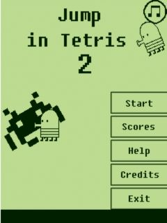 Download free mobile game: Jump in Tetris 2 - download free games for mobile phone