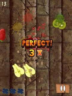 Mobile game Fruit Slice - screenshots. Gameplay Fruit Slice