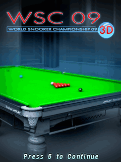 Download free mobile game: World Snooker Championship 09 3D - download free games for mobile phone
