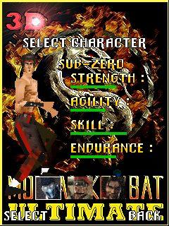 Mobile game Mortal Combat Ultimate 3D - screenshots. Gameplay Mortal