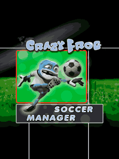 Download free mobile game: Crazy Frog: Soccer Manager - download free games for mobile phone