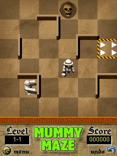 Mobile game Mummy maze - screenshots. Gameplay Mummy maze