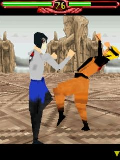 Mobile game Naruto 3D - screenshots. Gameplay Naruto 3D