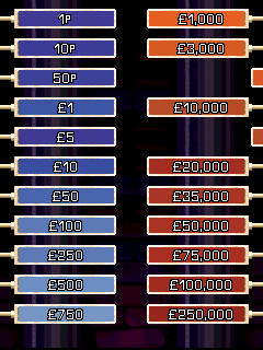Mobile game Deal or no deal - screenshots. Gameplay Deal or no deal