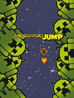 Download free mobile game: MineDroid Jump - download free games for mobile phone