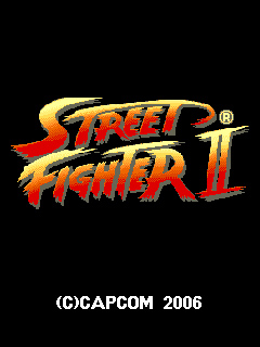 Mobile game Street Fighter 2 - screenshots. Gameplay Street Fighter 2