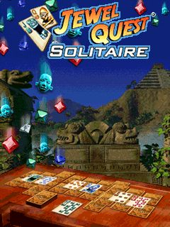 Mobile game Jewel Quest Solitaire - screenshots. Gameplay Jewel Quest Solitaire