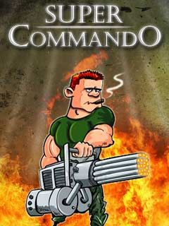 Download free mobile game: Super Commando - download free games for mobile phone