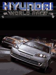 Download free mobile game: Hyundai World race - download free games for mobile phone