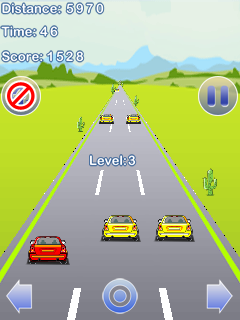 Mobile game Stunt Racing car - screenshots. Gameplay Stunt Racing car