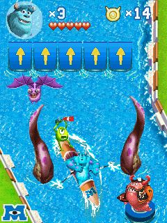 Mobile game Monsters university - screenshots. Gameplay Monsters university