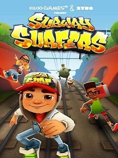 Download free mobile game: Subway surfers - download free games for mobile phone