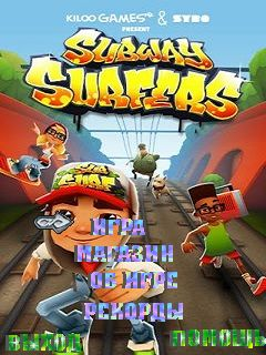 Mobile game Subway surfers - screenshots. Gameplay Subway surfers