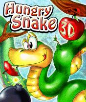 Download free mobile game: Hungry snake 3D - download free games for mobile phone