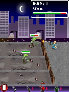 Mobile game Zombie defense - screenshots. Gameplay Zombie defense