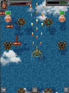 Mobile game Mig 2D: Retro shooter - screenshots. Gameplay Mig 2D: Retro shooter