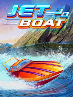 Download free mobile game: Jet boat 3D - download free games for mobile phone